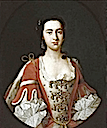 ca. 1740 Anna Maria, Baroness Dacre by circle of van Loo (sold by Roy Precious)