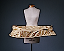 ca. 1750 British cotton panniers (Metropolitan Museum of Art - New York City, New York USA)