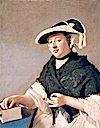 ca. 1760 Lady Fawkener, née Harriet Churchill (c.1726–1777) by Liotard (Compton Verney Gallery - Warwickshire UK)