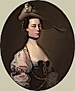 ca. 1760 Lady (Lady Oxenden in a different pose by another artist) by Joseph Wright of Derby