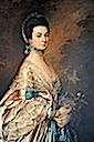 ca. 1765 Mrs. Edmund Morton Pleydell by Thomas Gainsborough (Museum of Fine Arts - Boston, Massachusetts USA)