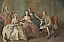 ca. 1767 Family of the Duke of Penthièvre by Jean-Baptiste Charpentier (Château de Sceaux - Sceaux, Hauts-de-Seine France)