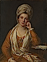 1767-1769 Mrs. Horton, Later Viscountess Maynard by Sir Joshua Reynolds (Metropolitan Museum - New York, New York USA)