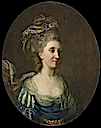 """ca. 1770"" Marie Fortunée d'Este la princesse de Conti by ? (location unknown to gogm)"