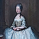 ca. 1772 Marie-Béatrice d'Este by workshop of Anton von Maron (Versailles) head and bodice Wm
