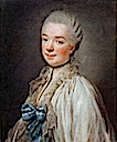 ca. 1774 Béatrix de Choiseul, Duchesse de Gramont by Roslin (Collection Gramont, Bayonne France)