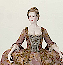 ca. 1775 Italian court dress and petticoat (robe à la Française) (Museum of Fine Arts - Boston, Massachusetts USA) stomacher