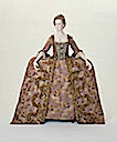 ca. 1775 Italian court dress and petticoat (robe à la Française) (Museum of Fine Arts - Boston, Massachusetts USA) front