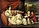 ca. 1776 Charlotte Grenville, Sir Watkin Williams-Wynn's second wife and her children by Sir Joshua Reynolds (National Museum of Wales)