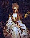 ca. 1777 Dorothy, née Shafto Countess of Lisburne by Sir Joshua Reynolds (private collection)