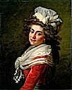 ca. 1790 Marquise de Grécourt, née de la Fresnaye by Jean Laurent Mosnier (auctioned by Christie's)