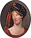 ca. 1802 (?) Lady Charlotte with turban by Archibald Skirving (location unknown to gogm)
