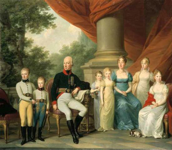 ca. 1805 Kaiserliche Familie by Josef Kreutzinger (location unknown to gogm)