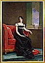 ca. 1810 Desideria Bernadotte as Crown Princess by Baron François Pascal Simon Gérard (location unknown to gogm)