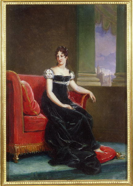 ca. 1810 Désirée Clary as Crown Princess by Francois Pascal Simon-Baron-Gérard (location unknown to gogm)