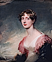 ca. 1817 Mary, Countess of Plymouth by Sir Thomas Lawrence (Fine Arts Museums of San Francisco, San Francisco California)