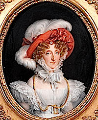 ca. 1830 Marie-Amelie by manufacture Porcelaine de Paris (Musee Conde, Chantilly France) Photo - René-Gabriel Ojéda