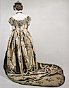 ca. 1845-1850 Cout dress worn by Victoria, Duchess of Kent (location unknown to gogm)