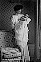 ca. 1907 Cecilie with little Louis Ferdinand
