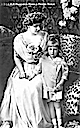 ca. 1908 (based on age of child) Marie and Nicholas