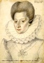 Catherine de Bourbon (1556-1604) by Nicolas Quesnel (Bibliothèque nationale de France)