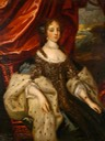Catherine of Bragança (1638–1705), Queen Consort of King Charles II by school of Caspar Netscher (probably at the Colchester Castle Museum - Colchester, Essex UK)