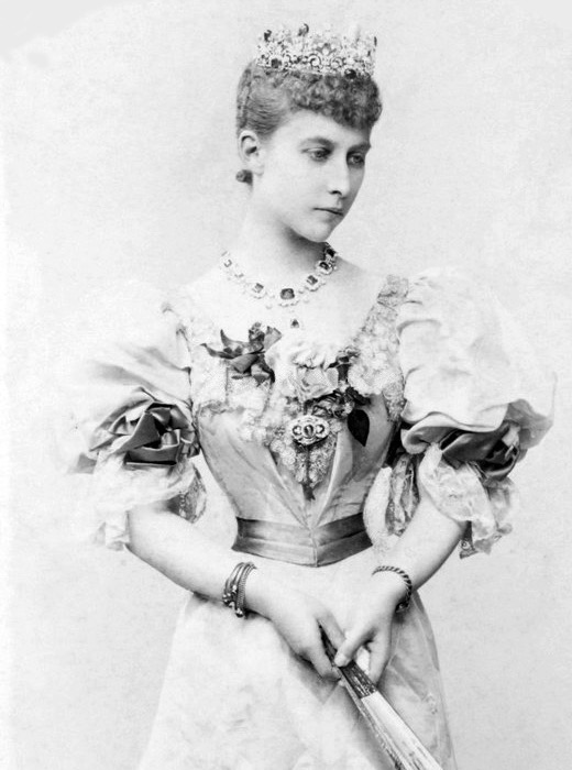 Charlotte, Duchess of Saxe Meiningen, neé Princess of Prussia by ? Wm