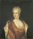 1715 (or earlier) Charlotte Sophia Christina of Brunswick-Wolfenbuettel by ? (Hermitage)