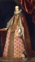 Claudia de´Medici wearing a pastel pink dress by ? (location unknown to gogm)