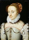 1570 Jeanne d'Albret by François Clouet (Musée Condé - Chantilly, Picardy France)