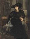 Comtesse Greffulhe by Jacques Emile Blanche (location unknown to gogm)