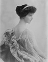 Consuelo Vanderbilt seated