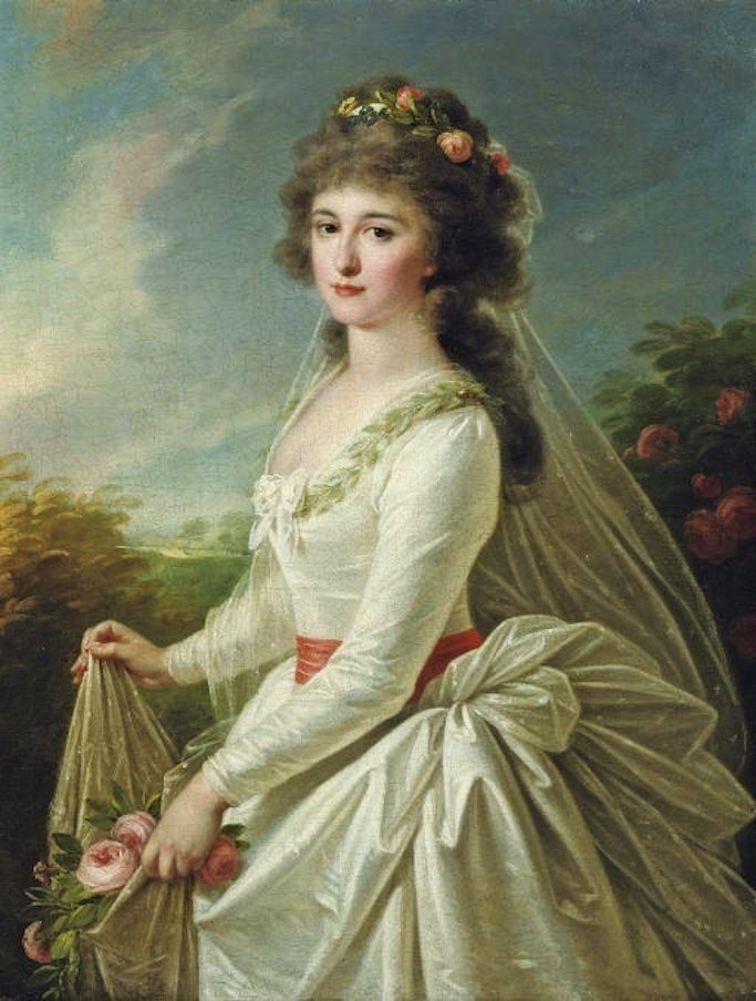 Countess Anna Ivanovna Chernysheva, née Pleshcheeva by Angelica Kauffmann (location ?) From crests-and-coronets.tumblr.com:post:159191718771:adini-nikolaevna-countess-anna-ivanovna enlarged one third