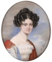 Countess Marie Chotek, possibly Maria Sophia Berchtoldovna of Uherèic by Emanuel Thomas Peter (Dorotheum)