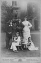 Countess of Dudley and her family