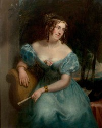 Countess Teresa Guiccioli by Henry William Pickersgill (Newstead Abbey - Nottingham, East Midlands UK) bbc.co