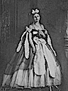 Countess Castiglione wearing her dress off of her shoulders