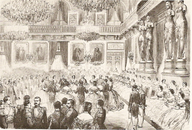 Court Ball at the Tuileries palace