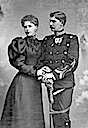ca. 1893 Crown Prince & Princess of Romania