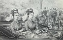 1873 Dagmar and Alexandra in a carriage