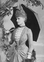 "Frances Evelyn ""Daisy"" Greville, Countess of Warwick From antique-royals.tumblr.com detint"