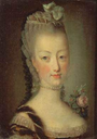 Dauphine Marie Antoinette by Jean Martial Fredou (auctioned)