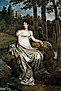 Désirée at Mortefontaine by Baron François Gérarad (Royal Palace, Stockholm Sweden)