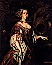 1680 Diana, Countess of Ailesbury by Sir Peter Lely