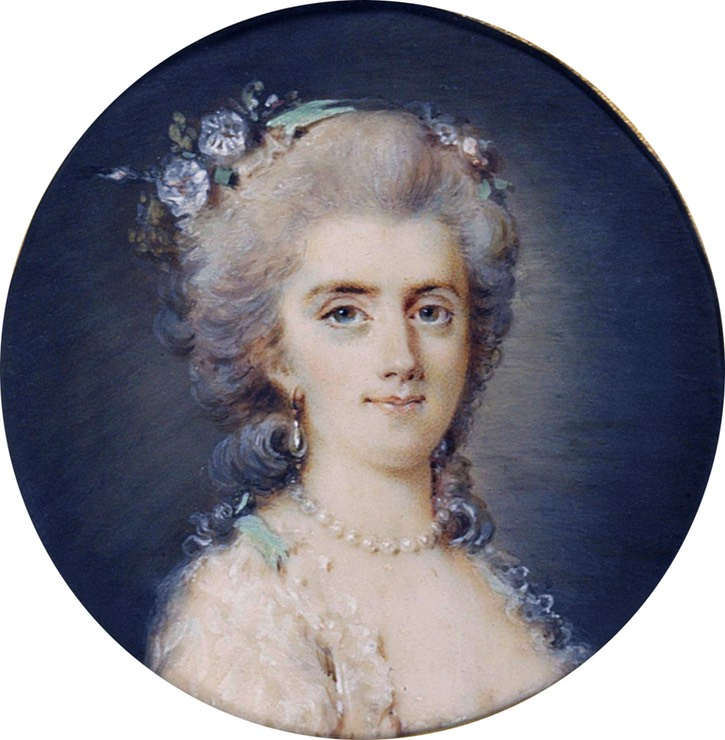 Diane de Polignac (1746 - after 1818)