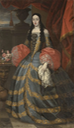 Doña María Luisa de Orleans, reina de España, attributed to Francisco Ignacio Ruiz de la Iglesia (Museo nacional del Prado - Madrid, Spain) From pinterest.com:ccatany:spain-xvii-century-and-related-to-this-specific-fa: removed nav' mark