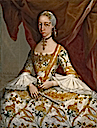 Doña María de la Luz Padilla y (Gómez de) Cervantes, marquesa de Santa Fe de Guardiola by Miguel Cabrera (Brooklyn Museum - New York City, New York USA)