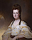 Dorothy Cavendish, wife of William Cavendish Bentinck, 3rd Duke of Portland by George Romney (auctioned by Sotheby's)