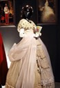ca. 1865 Dress worn by Empress Elisabeth of Austria (Sissi Museum, Hofburg Palace, Vienna) From pinterest.es:steamglue:sisi: