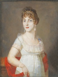 Duchess Maria Elisabeth in Bavaria (1784-1849), princess of Wagram by ? (auctioned by Sotheby's) From the lost gallery's photostream on flickr despotted
